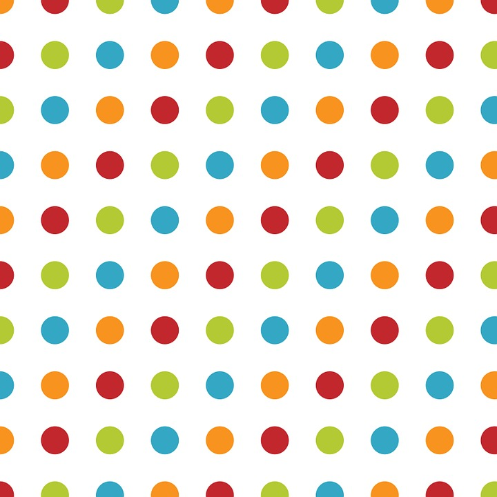 Polka Dots, Dots, Spots, Pattern, Design, Wallpaper