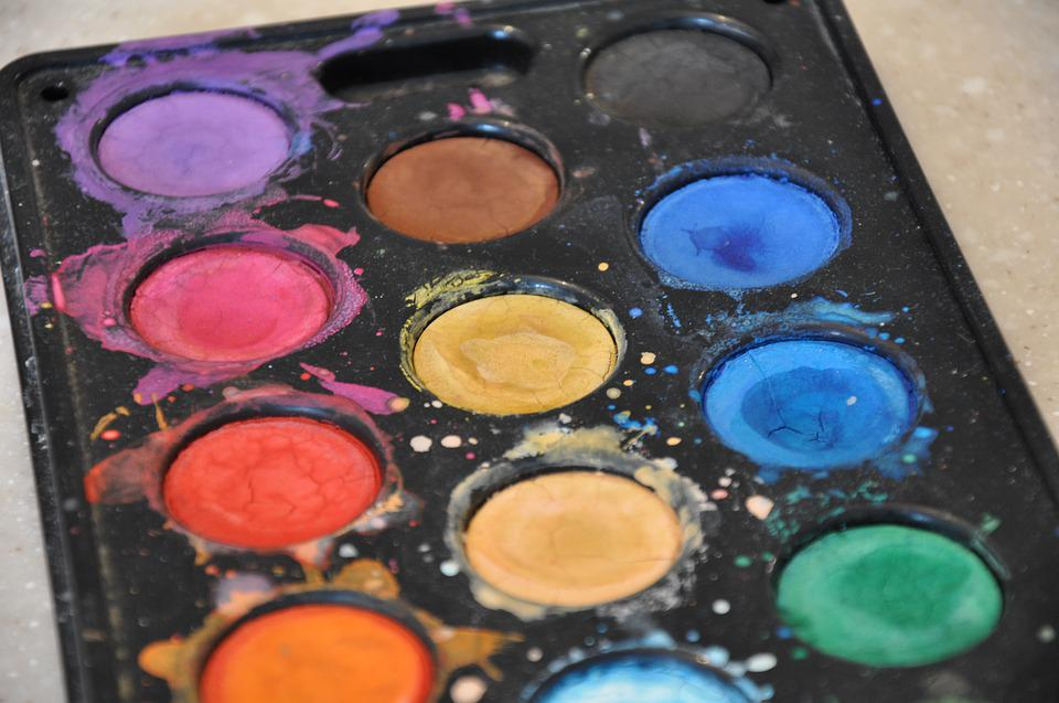 Paint, Watercolor, Spray, Colorful, Creative, Artist