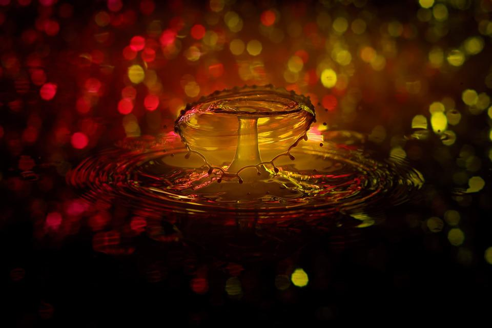 Drip, Water, Drop Of Water, Water Feature, Spray