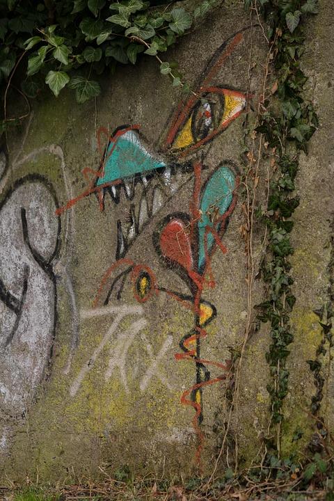 Graffiti, Spray, Art, Creativity, Sprayer, Colorful