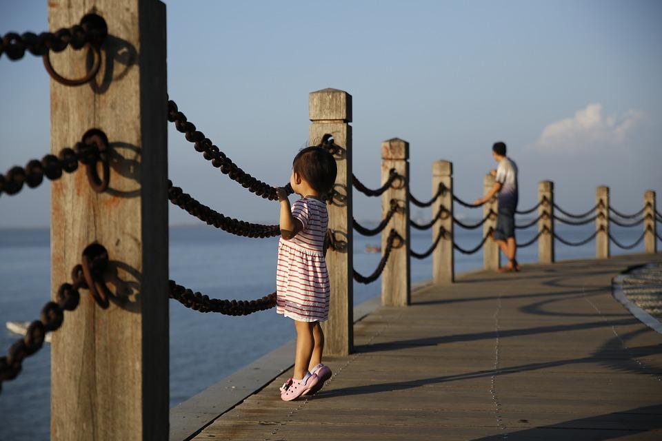 Daughter, Girls, Spring, Cute, Angel, Beach