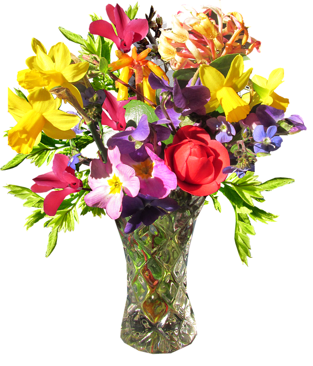 Free Photo Spring Flower Vase Max Pixel