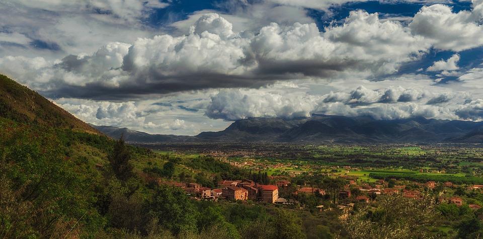 Landscape, Nature, Castrocielo, Lazio, May, Spring