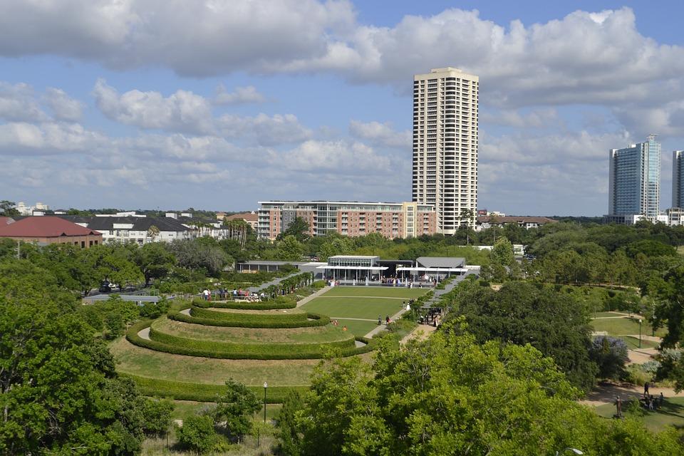 Botanical, Garden, Houston, Texas, Spring, Nature