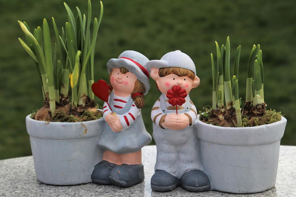 Spring, Total, Plants, Pot, In The Garden, Two, For You