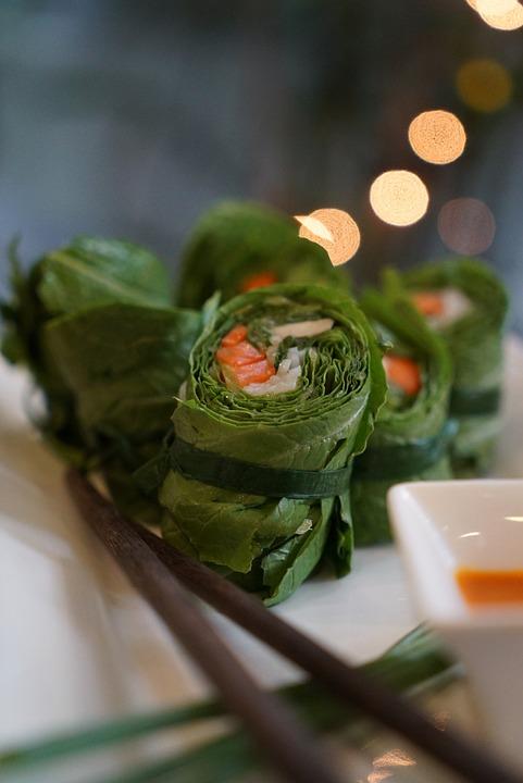 Vietnam, Vietnamese, Eat, Spring Rolls, Summer Rolls