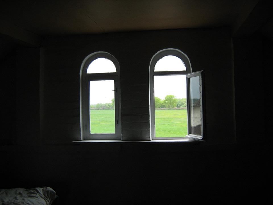 Window, Bedroom, Spring