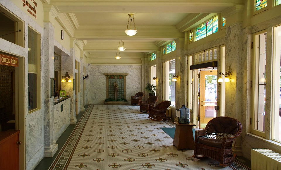 Fordyce Bathhouse Lobby, Hot, Springs, National Park