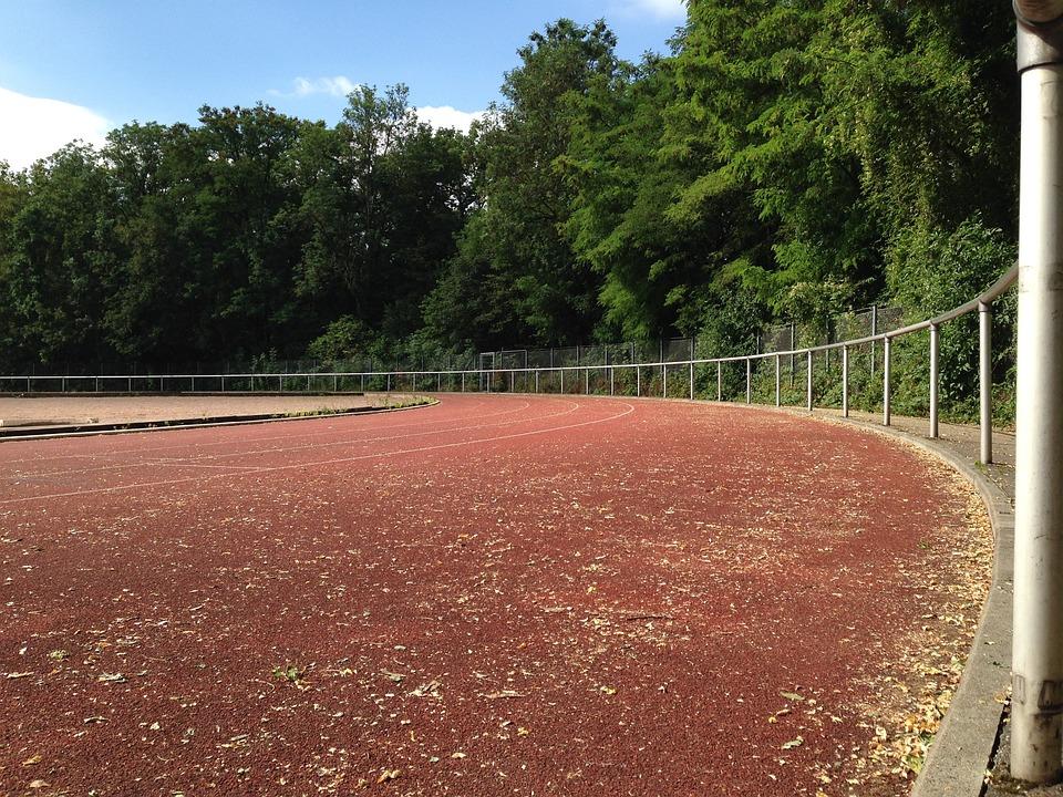 Sports Ground, Sport, Run, Red, Jog, Sprint
