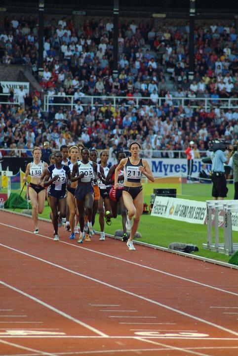 Athletics, Running, Sprinter Contest