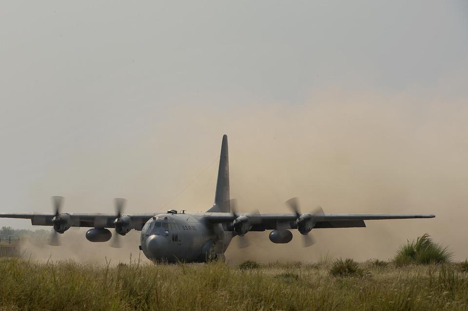 Cargo, Plane, C-130, Hercules, Airlift, Squadron
