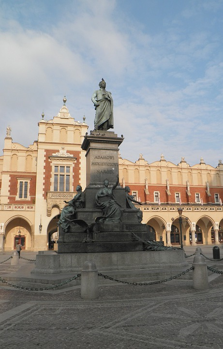 Krakow, Image, Cloth Hall, Square