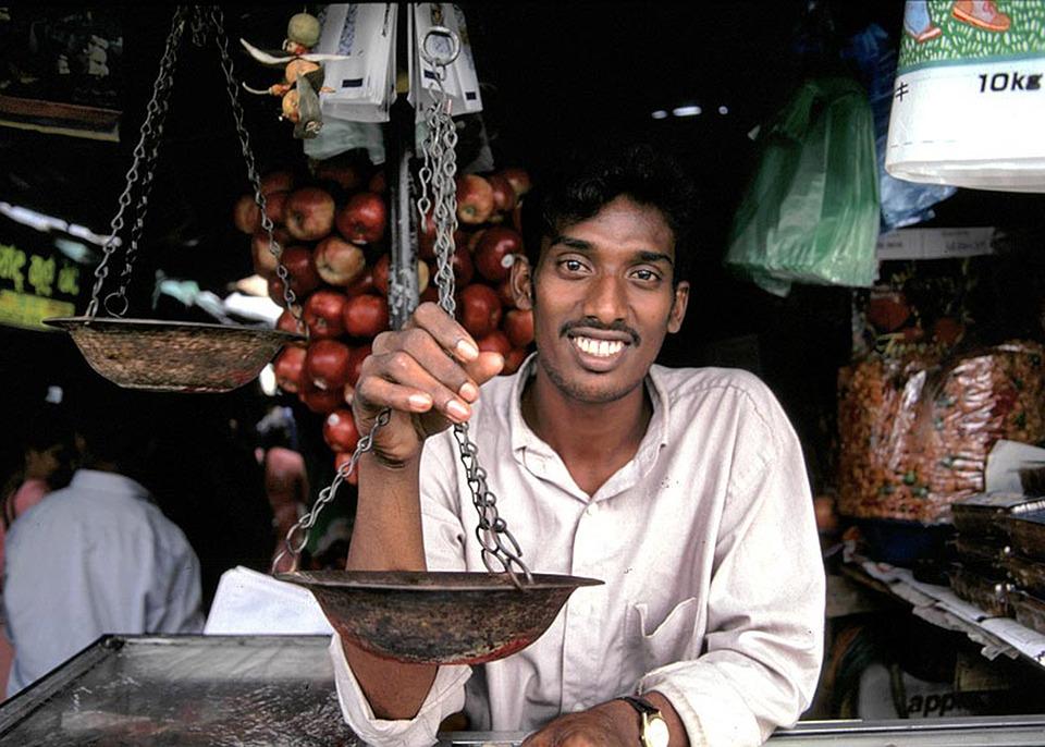 Shopkeeper, Seller, Man, Person, Happy, Sri Lanka