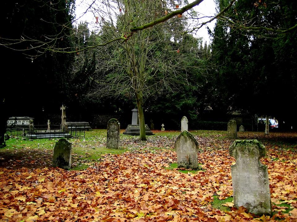 St Albans, Cemetery, Graveyard, Graves, Headstones