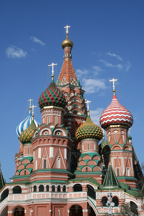 Kremlin, St Basil's Cathedral, Russia