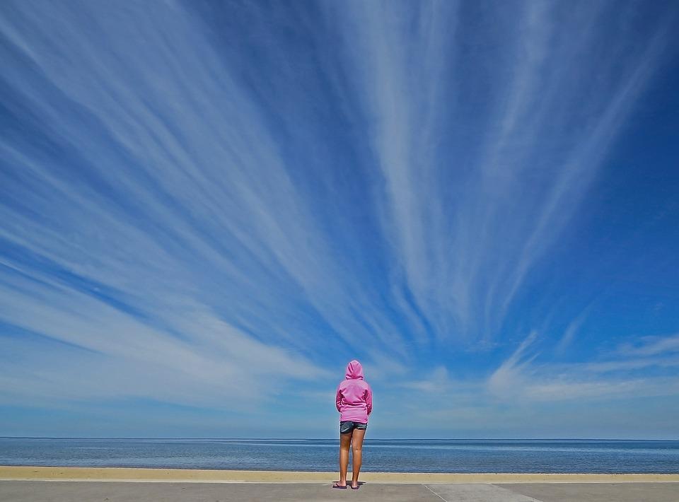 St Kilda, Melbourne, Beach, Sky