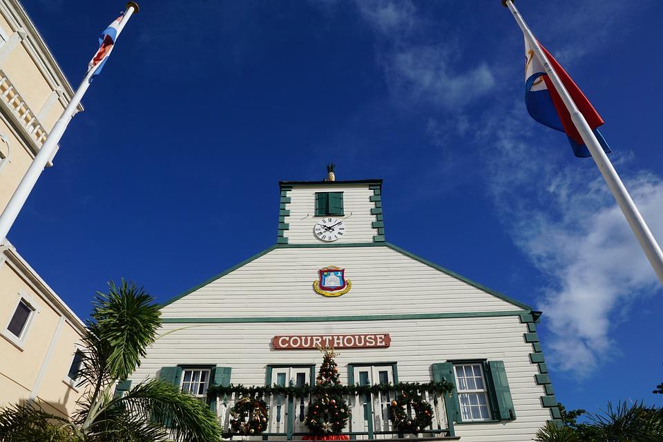 Philipsburg, St Maarten, Courthouse