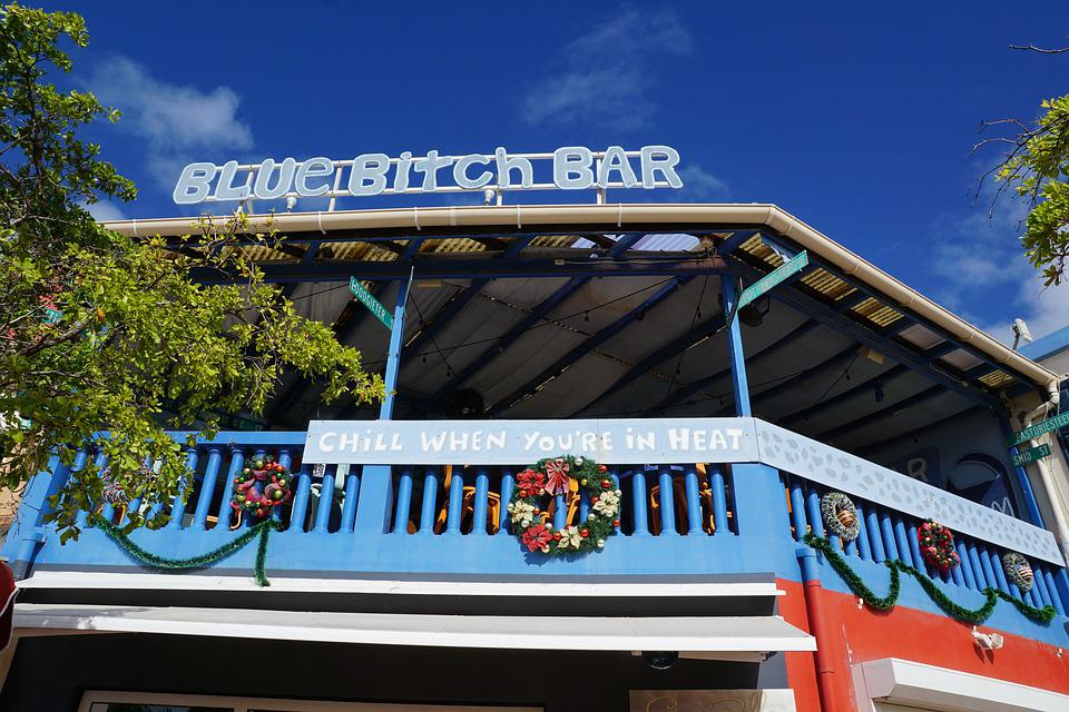 Philipsburg, St Maarten, Home, Bar