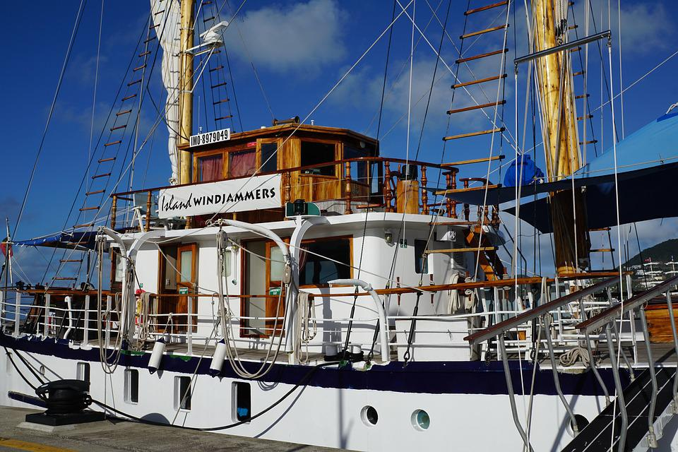 Boot, Port, St Maarten, Caribbean