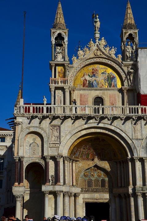 St Mark's Square, Venice, Italy, Dom