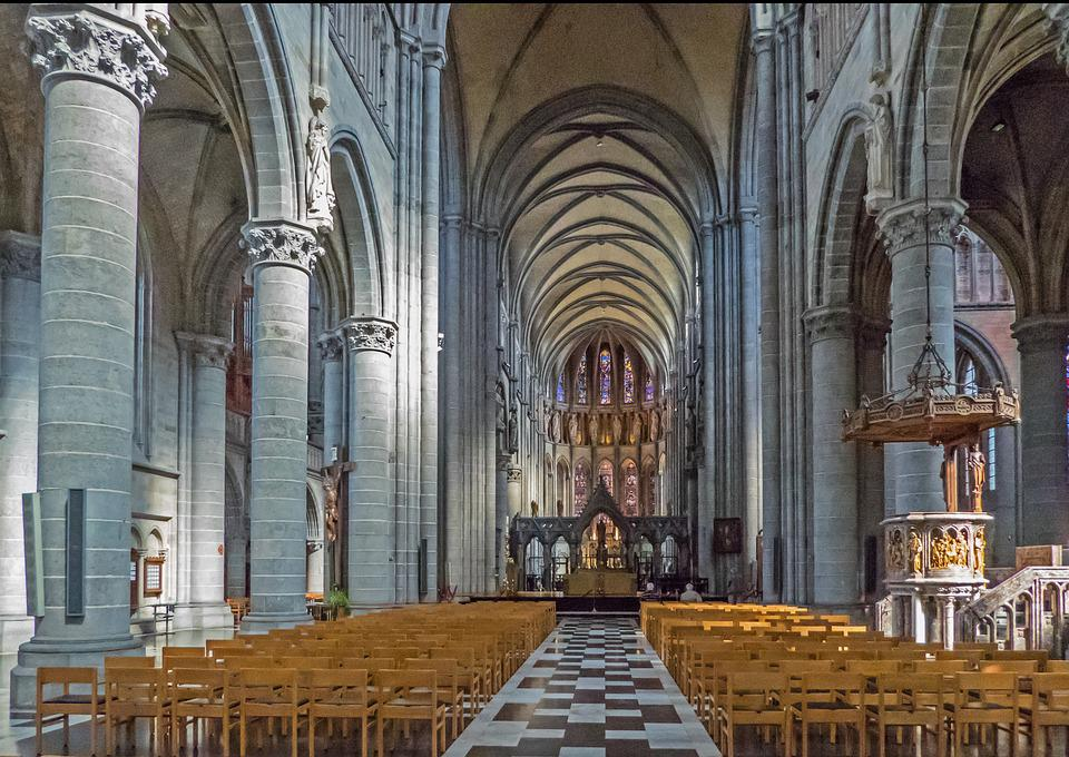 Belgium, Ypres, St Martin's Cathedral, Europe