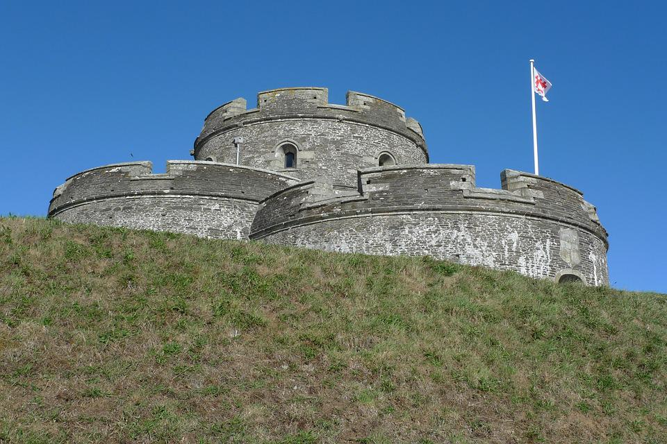 St Mawes Castle, Castle, Fort, Fortification, Cornwall