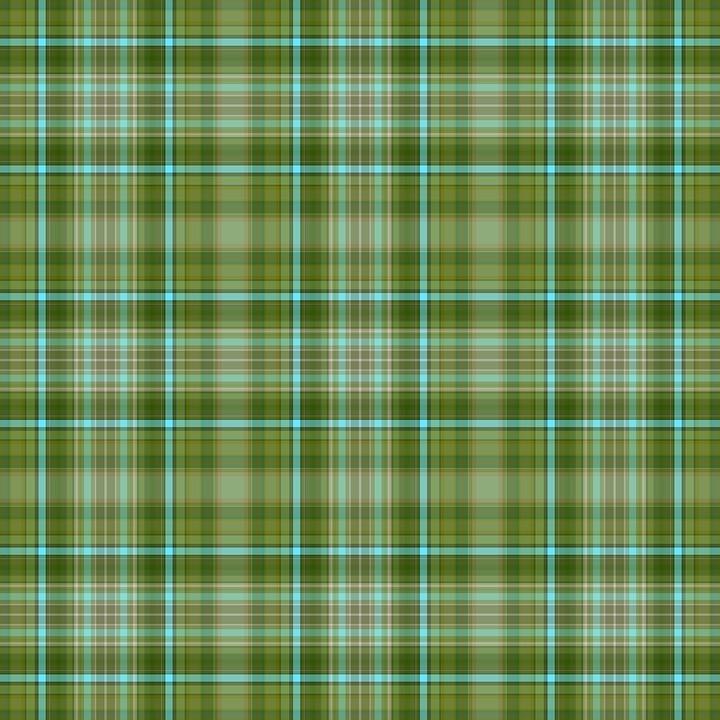 Vintage, Green, Plaid, St Patrick's Day, Green Vintage