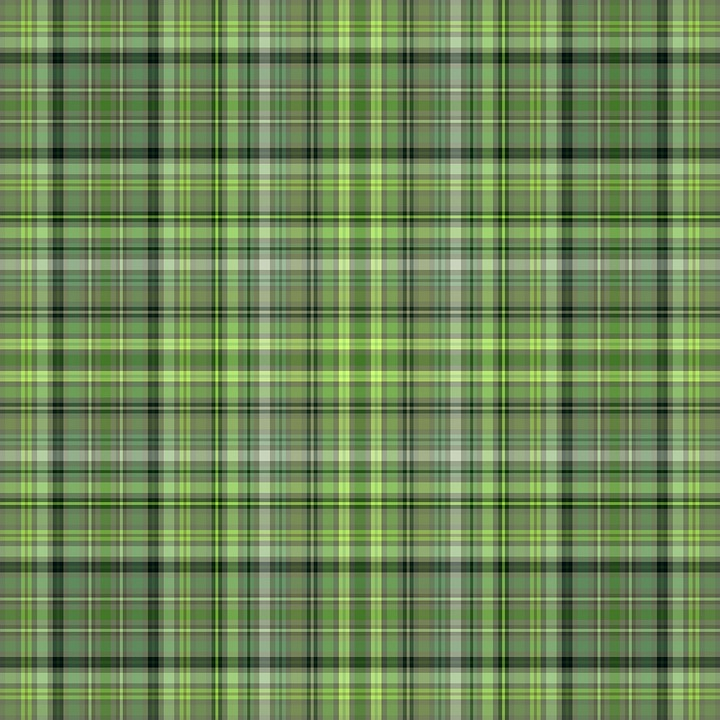 Green, Plaid, St Patrick's Day, Original