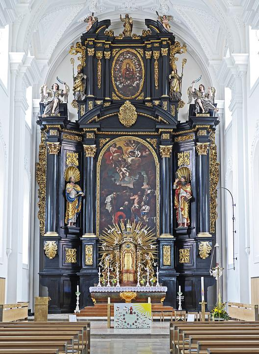 High Altar, St Paul, Passau, Church, Religion