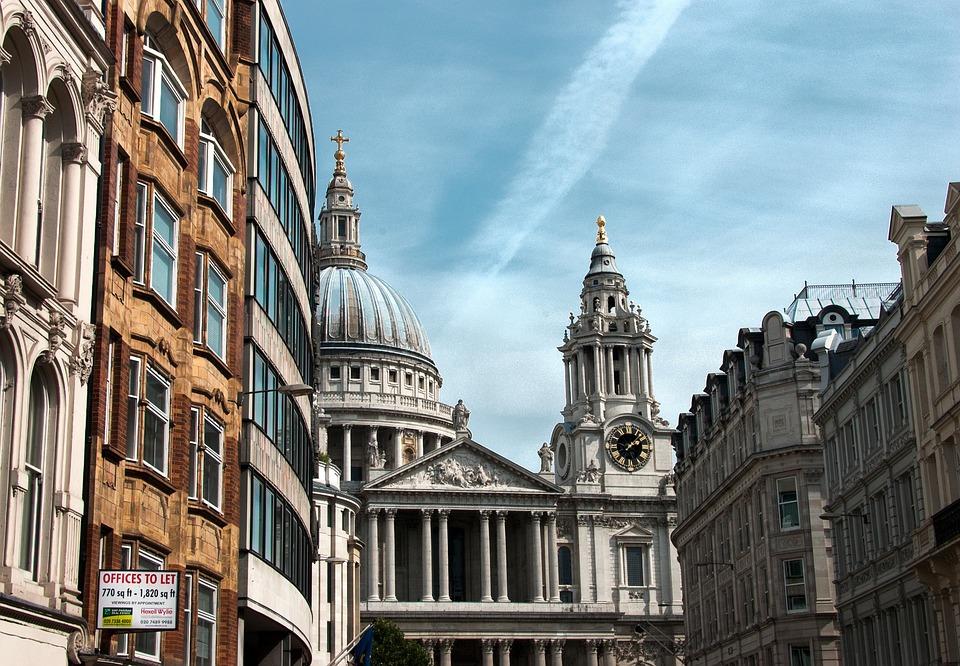 St Paul's Cathedral, United Kingdom, Church, Cloud