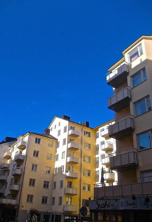 Facade, City, St Pauls Street, Södermalm, Stockholm