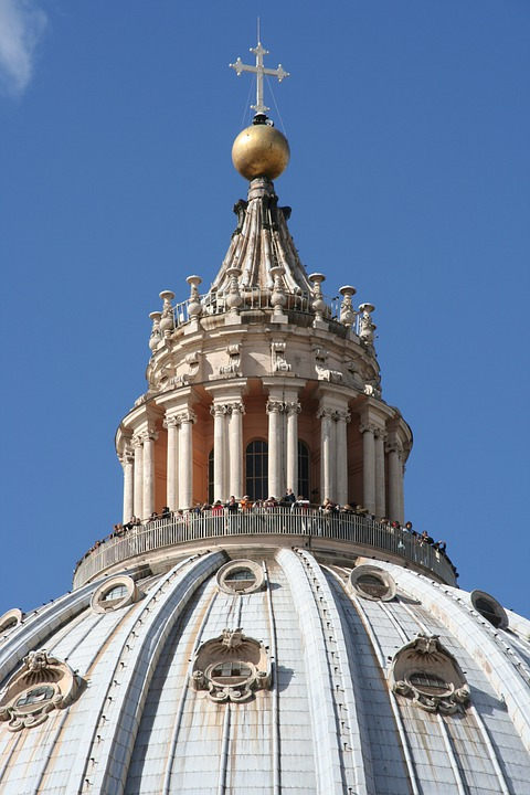 Vatican, St Peter's Basilica, Dome