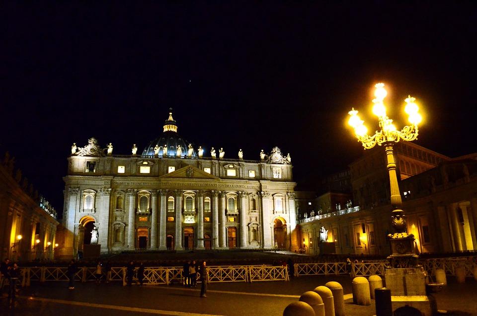 Rome, San Pietro, Vatican, St Peter's Basilica, Italy
