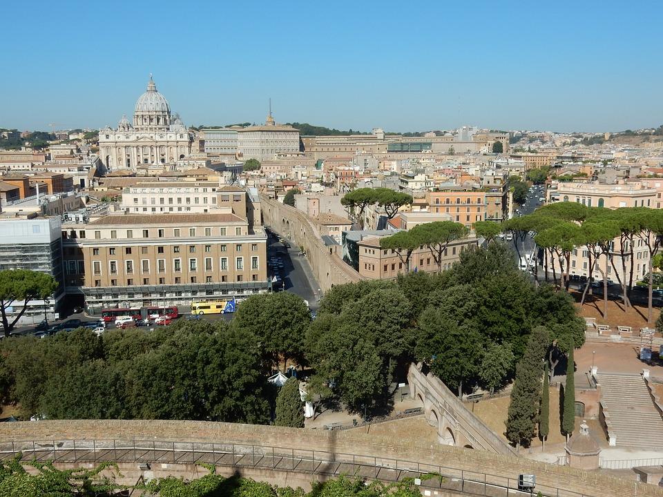 St Peter's Basilica, Rome, Creep Distance, Pope