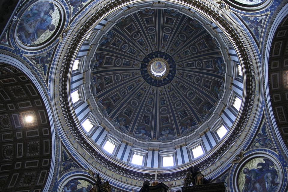 St Peter's Basilica, Dome, Rome, Architecture, Vatican