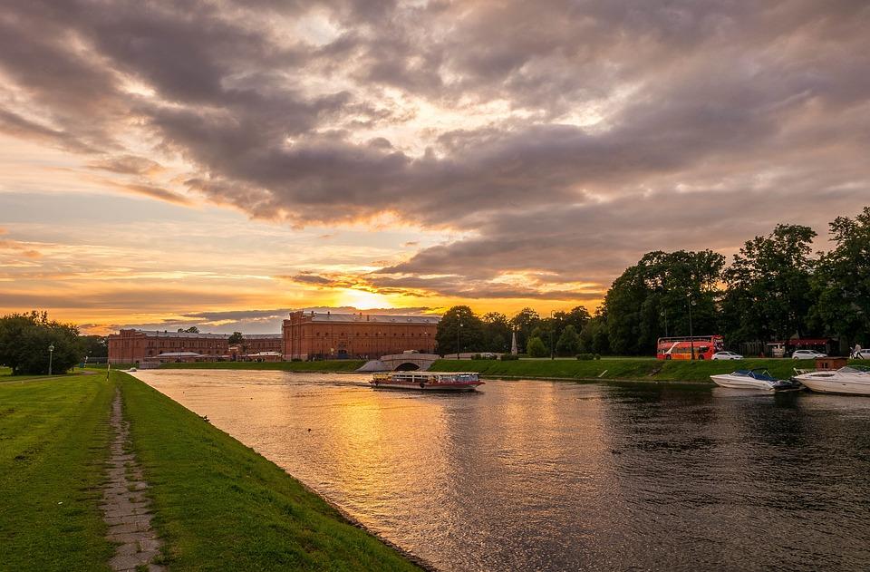 St Petersburg, Stroll, City, Evening, Beauty, Landscape