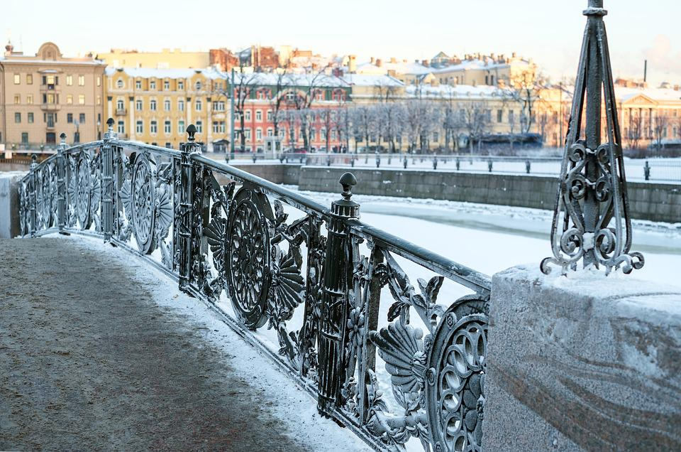 City, Spb, St Petersburg Russia, Winter, Beautiful