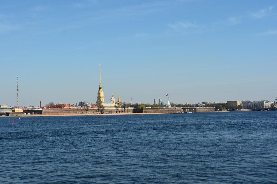 St Petersburg Russia, City, Neva, Petersburg, Landscape