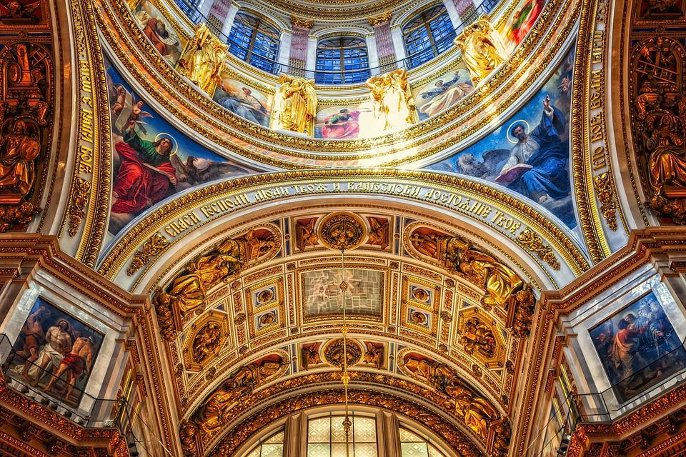 St Petersburg, Isaac Kathedrahle, World Heritage
