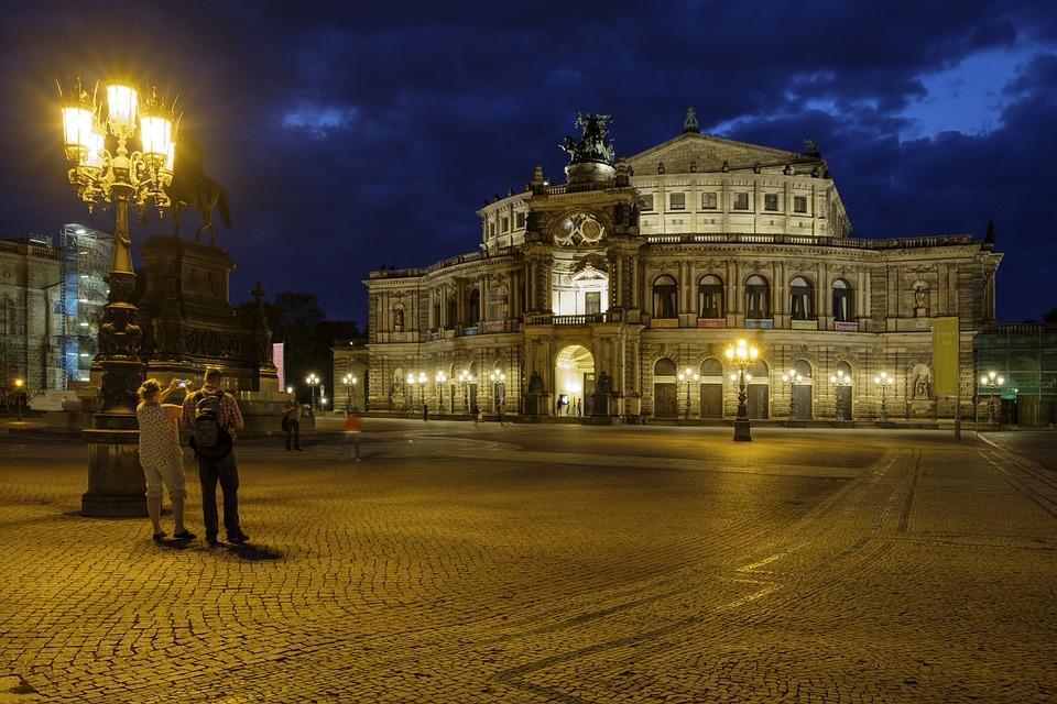 Semper Opera House, Opera House, Opera, Staatsoper