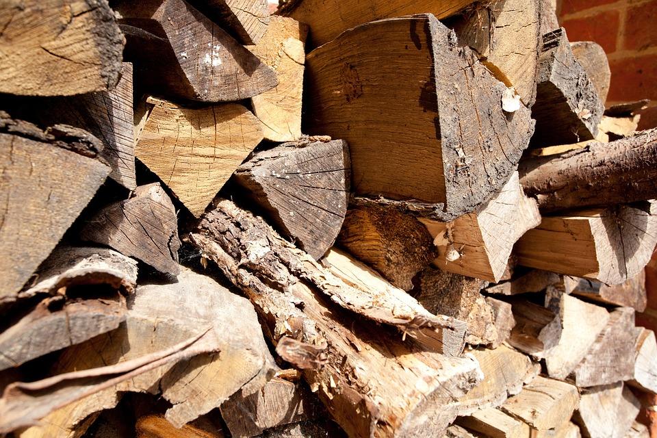 Wood, Logs, Lumber, Firewood, Logging, Stack