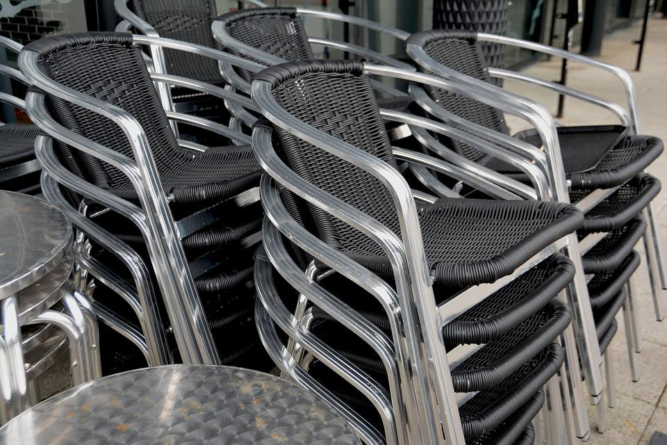 Chairs, Stacked, Seating, Stack, Furniture, Pile