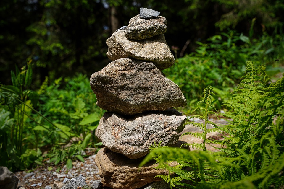 Stones, Pebbles, Stone Tower, Tower, Awol, Stacked
