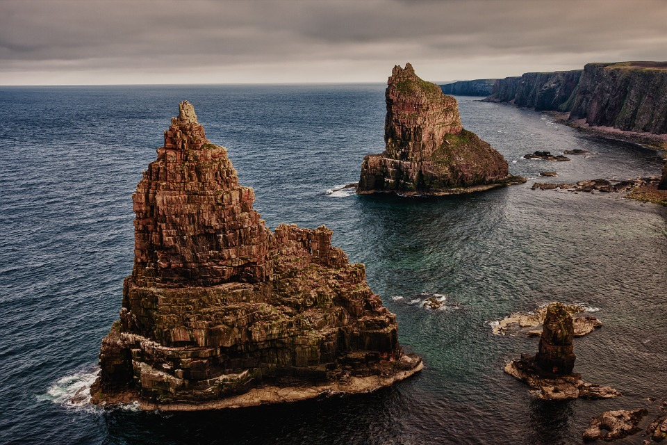 Rock, Stacks Of Duncansby, Scotland, North Of Scotland