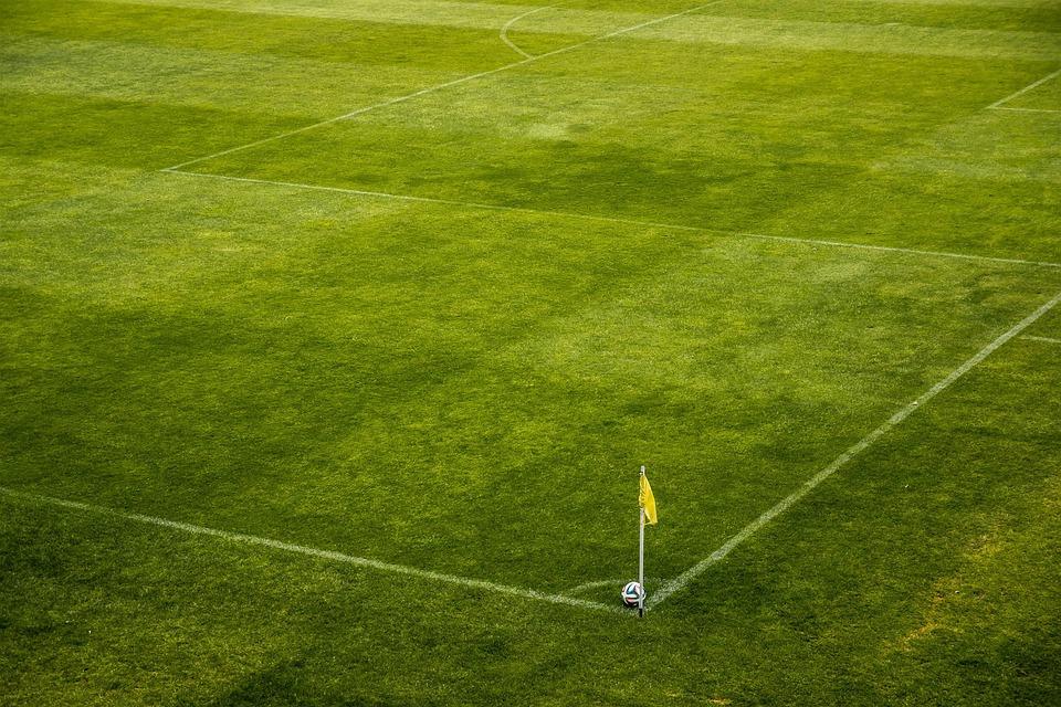 The Ball, Stadion, Horn, Corner, Korner, Flag, Football