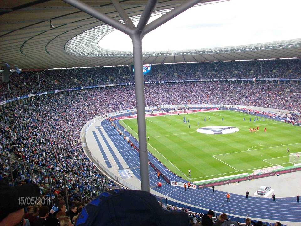 Olympic Stadium, Stadium, Football, Berlin