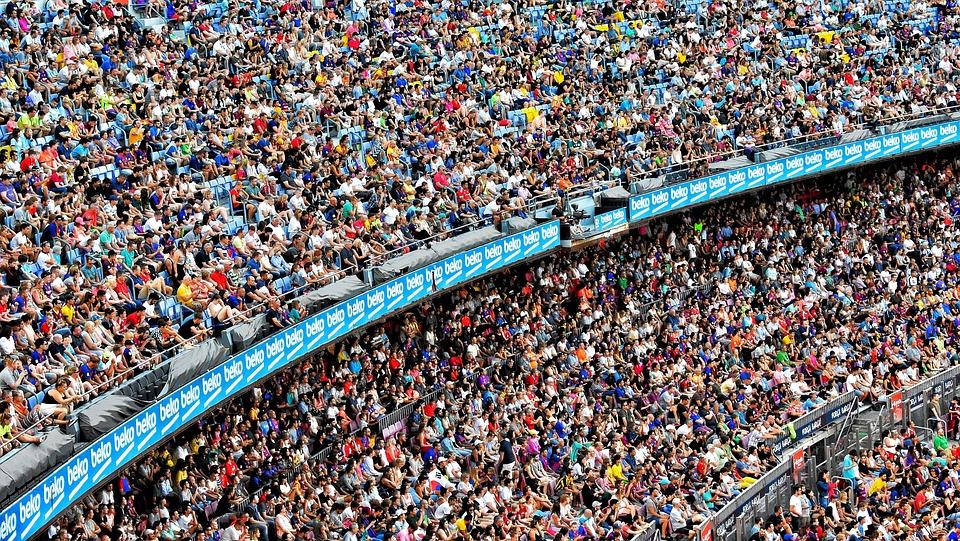 Stadium, People, Cricket