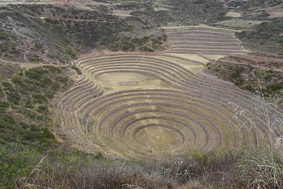 Architecture, Engineering, Inca, Peru, Stadium