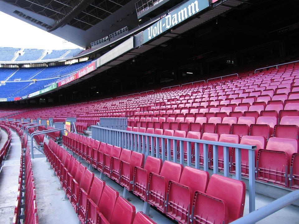 Stadium, Barcelona, Grandstand, Sit, Football, Rank