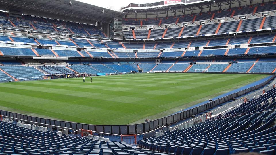 Stadium Santiago Bernabeu Football Real Madrid